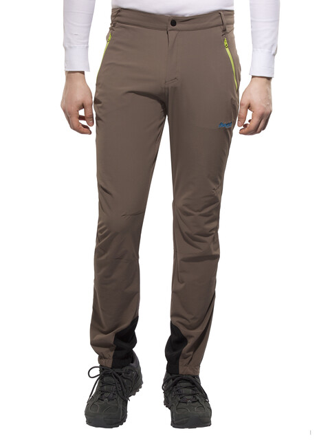 Bergans Bera Pant Men clay/lime/light sea blue